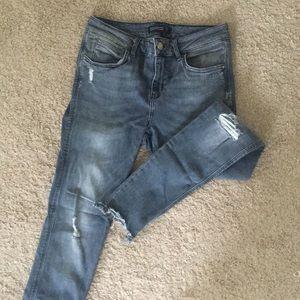 NEW Zara Grey Denim Jeans!